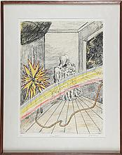 DE CHIRICO GIORGIO (1888 - 1978) Rainbow.