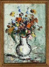 ALBERTINI LUCIANO (1910 - 1985) Flowers.