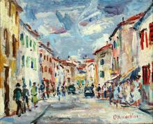 ALBERTINI LUCIANO (1910 - 1985) Caorle.