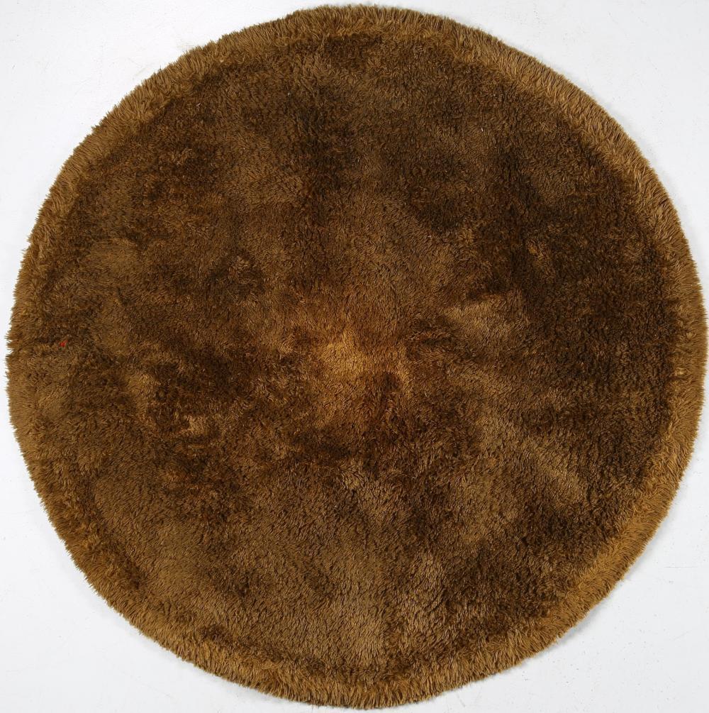 ITALIAN MANUFACTURE Round rug