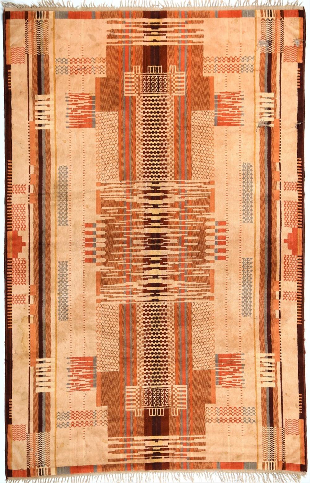 ITALIAN MANUFACTURE Art déco rug