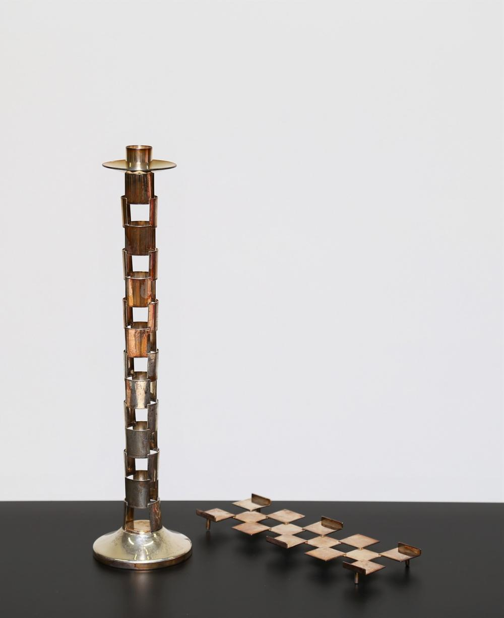 MUNARI CLETO Pen holder and candelabra