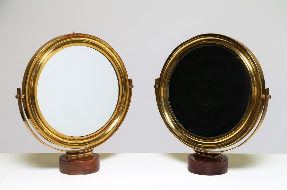 MAZZA SERGIO Pair of table mirrors mod. Narciso