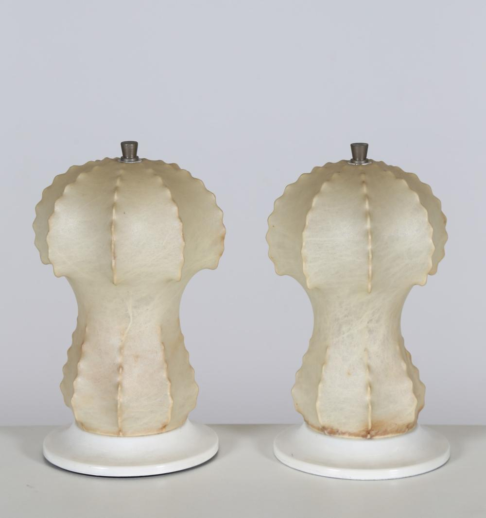 ITALIAN MANUFACTURE Pair of table lamps