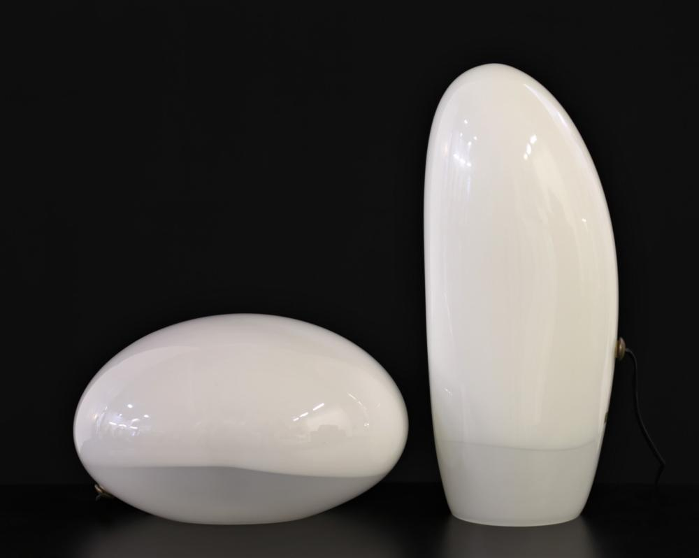 NASON CARLO (n. 1936) Pair of table lamps