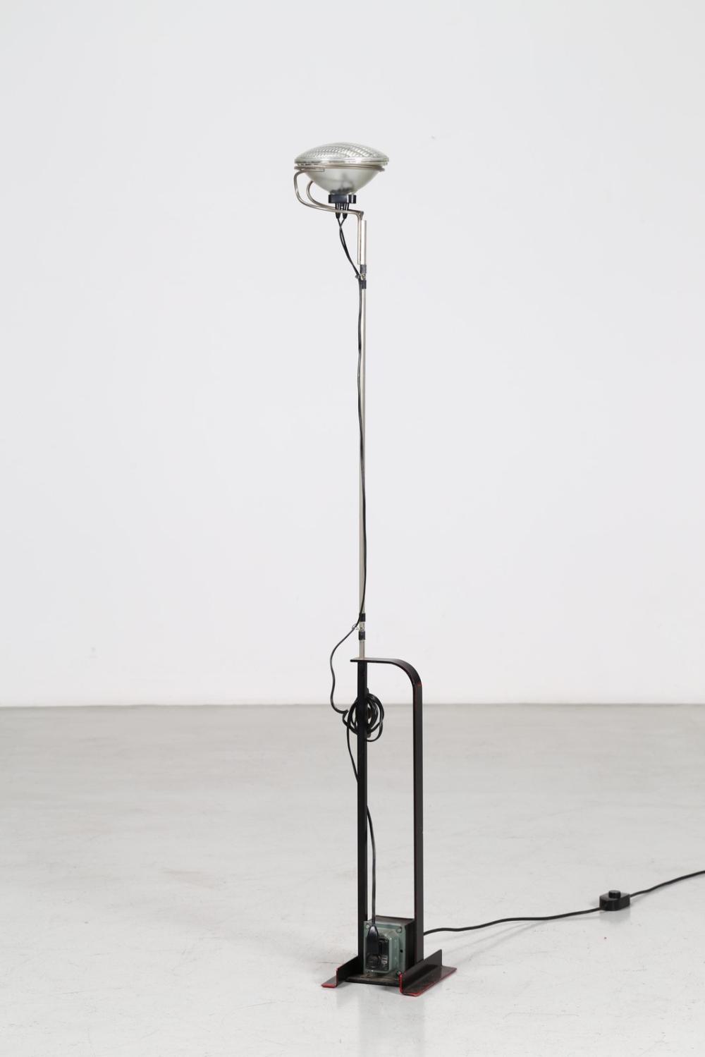 CASTIGLIONI ACHILLE (1918 - 2002) Floor lamp mod. Toio