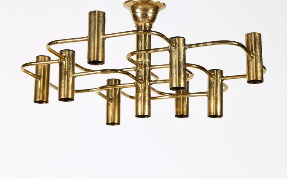 LUMI MILANO Nine lights chandelier