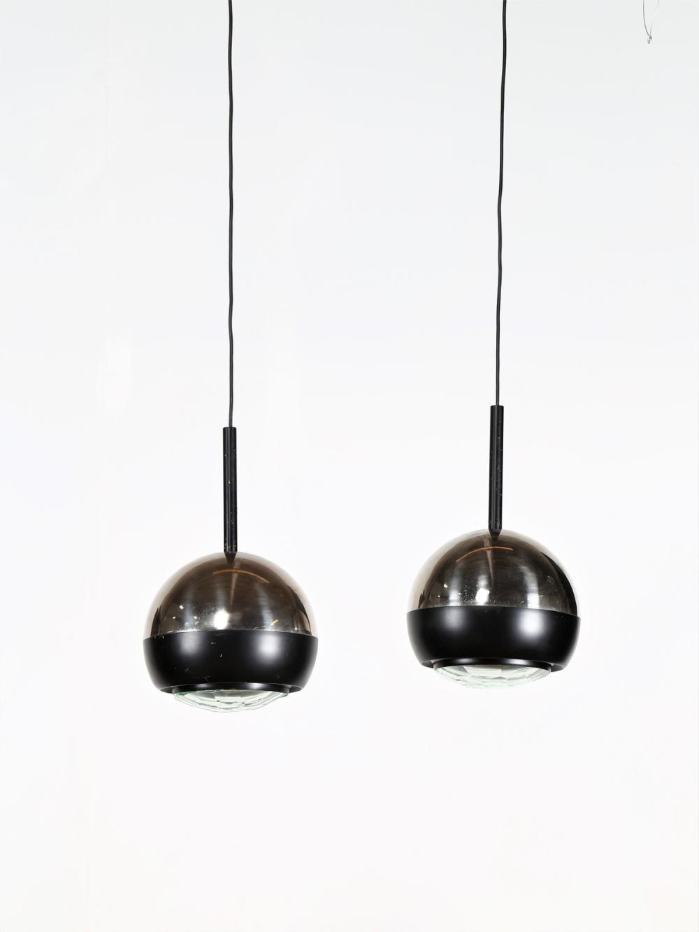 STILNOVO Pair of ceiling lamps