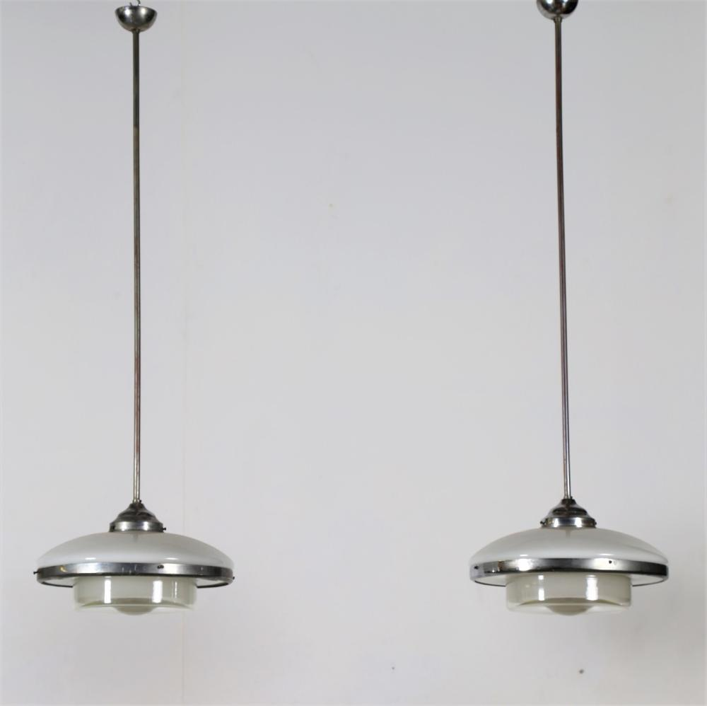 ITALIAN MANUFACTURE Pair of chandelier