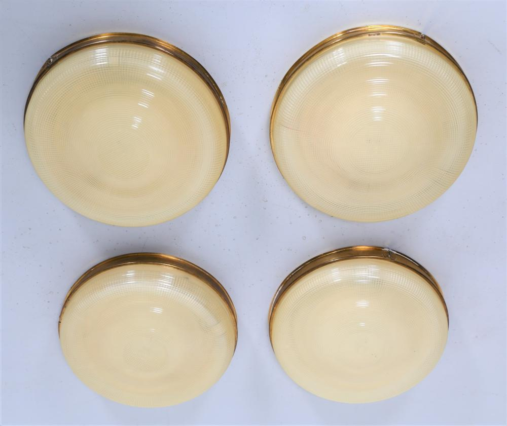 ITALIAN MANUFACTURE Four ceiling lights
