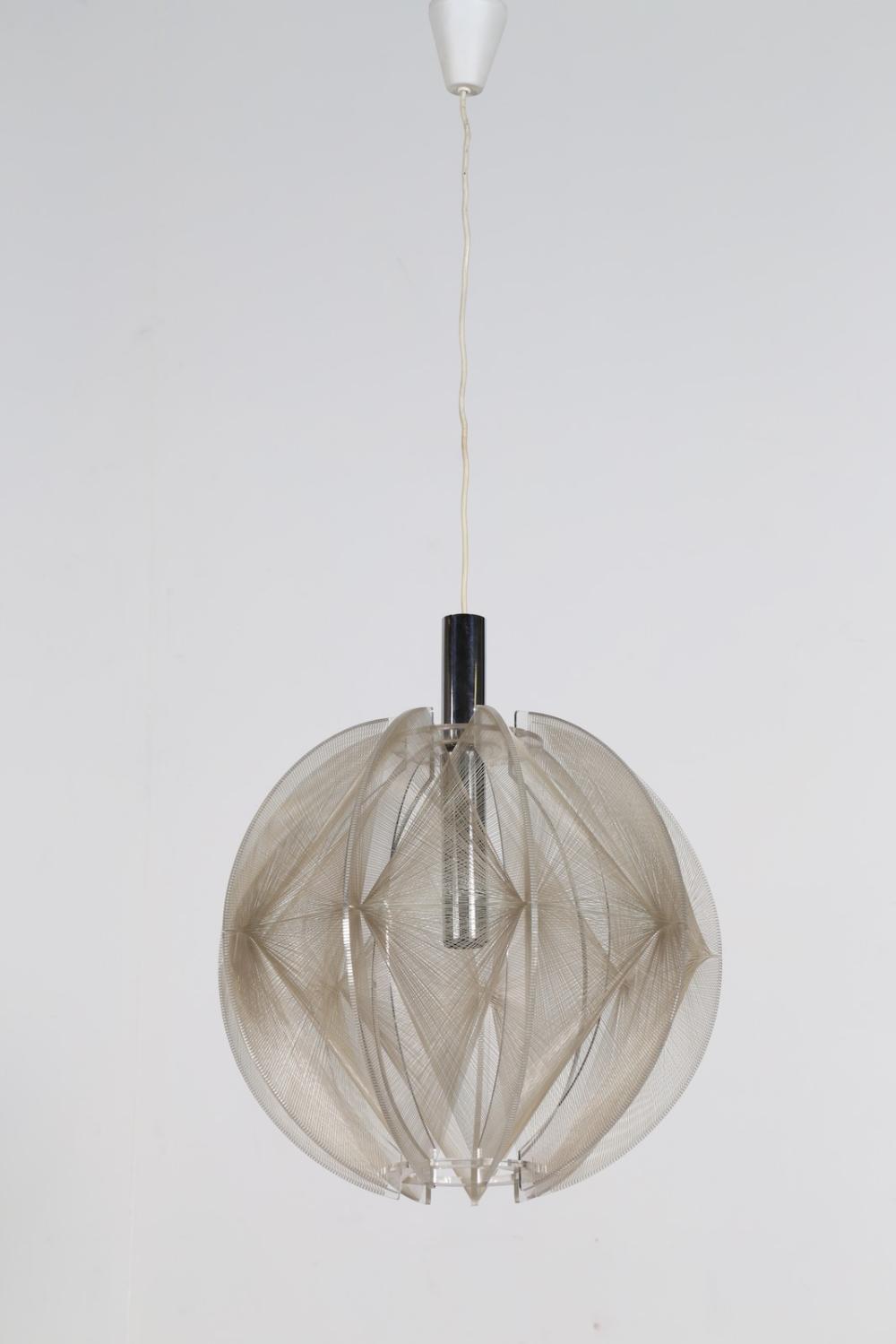 SECON PAUL (1916 - 2007) Ceiling lamp mod. Swag