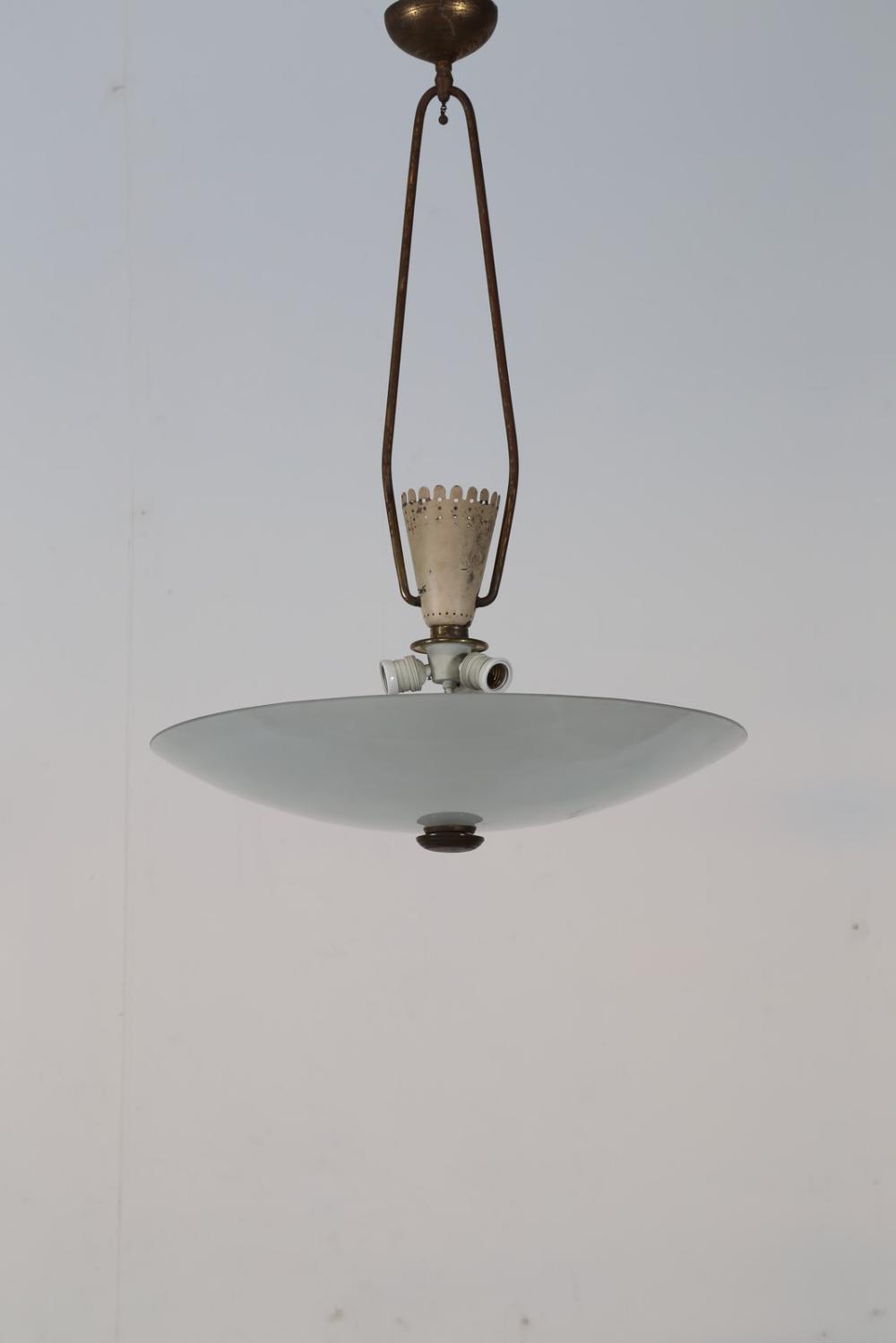 CHIESA PIETRO (1892 - 1948) Attributed Ceiling lamp