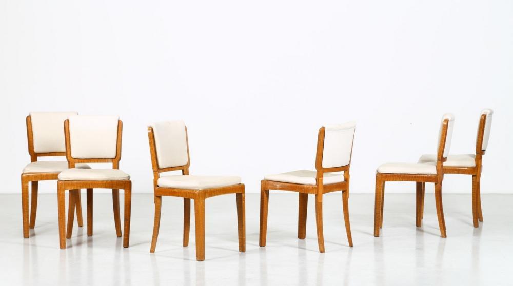ITALIAN MANUFACTURE Six chairs