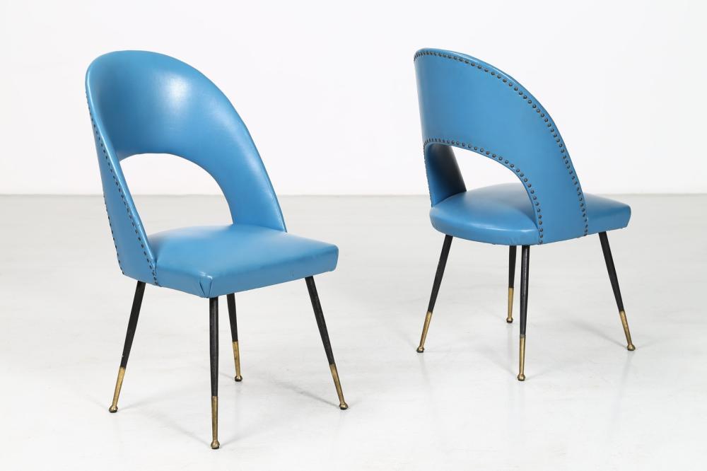 LENZI Pair of chairs