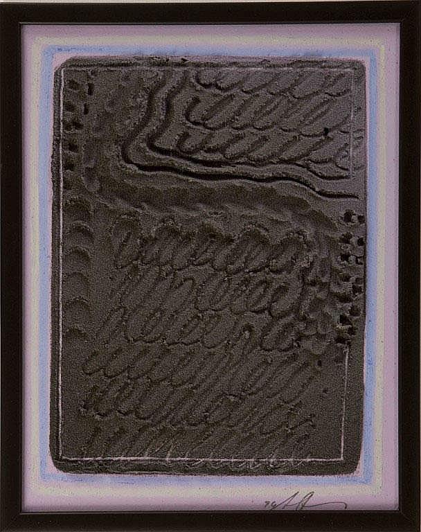 Scrittura 1994 AGOSTINO FERRARI Tecnica mista su