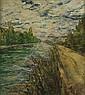 RAUL VIVIANI (1883-1965) Sentiero lungo il fiume, Raoul Viviani, Click for value