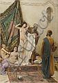 FABIO FABBI (1861-1946) Il mercato delle schiave