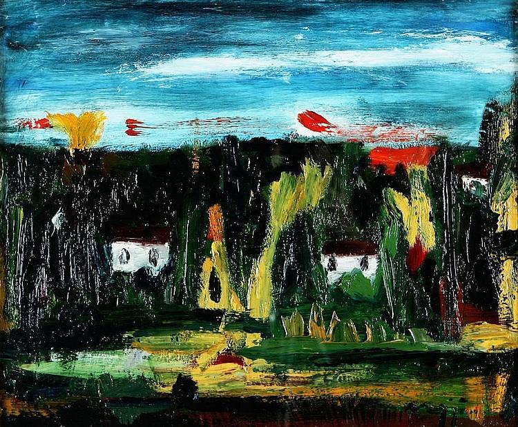 PIERO MAGGIONI (1931-1995), Brianza, Authenticated