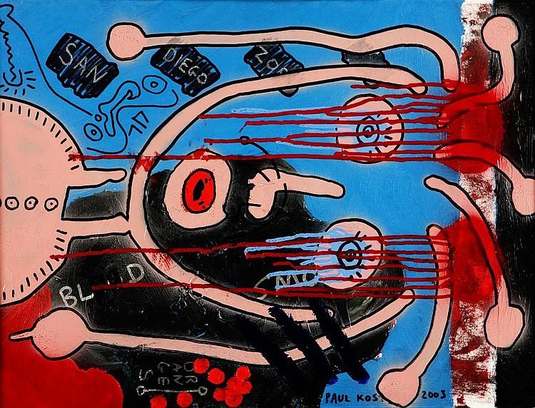 PAUL KOSTABY 1962, Different varieties, Signature,