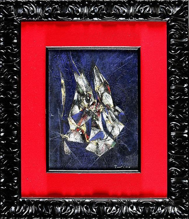 SALVATORE PROVINO 1943, Nocturnal, Authenticated