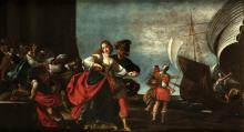 TIARINI ALESSANDRO (1577 - 1668) The abduction of Elena.