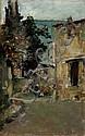ARTURO VERNI (1891-1960), View of landscape with