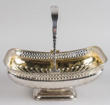 Russian Silver Basket   *