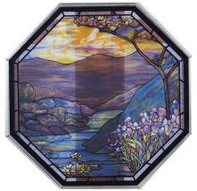 Reproduction Stained Glass Panel
