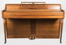 Upright Piano and Bench