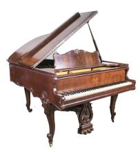 Sohmer & Co. Baby Grand Piano and Bench