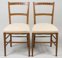Pair of Side Chairs   *