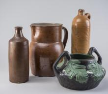 Four Pottery Articles