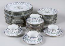 Limoges Porcelain Dinner Service