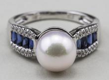 South Sea Pearl Ring   *