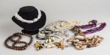 Group of Mineral and Costume Jewelry