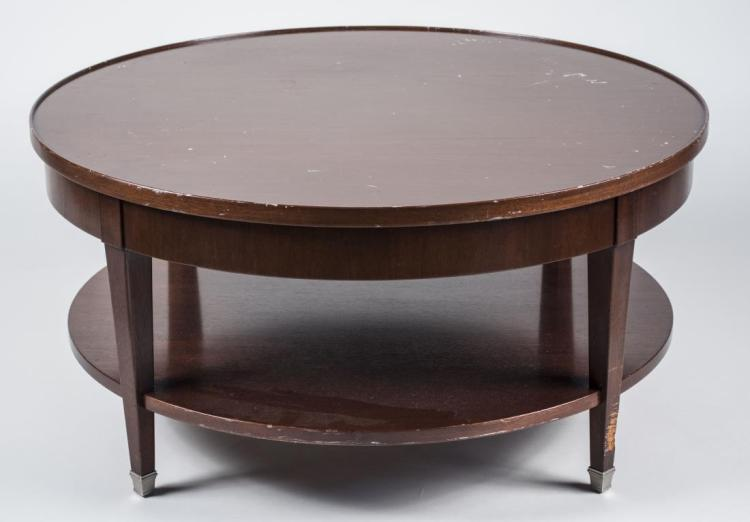 Fruitwood Two Tier Coffee Table