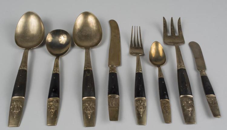 Thai brass flatware - Thai silverware ...