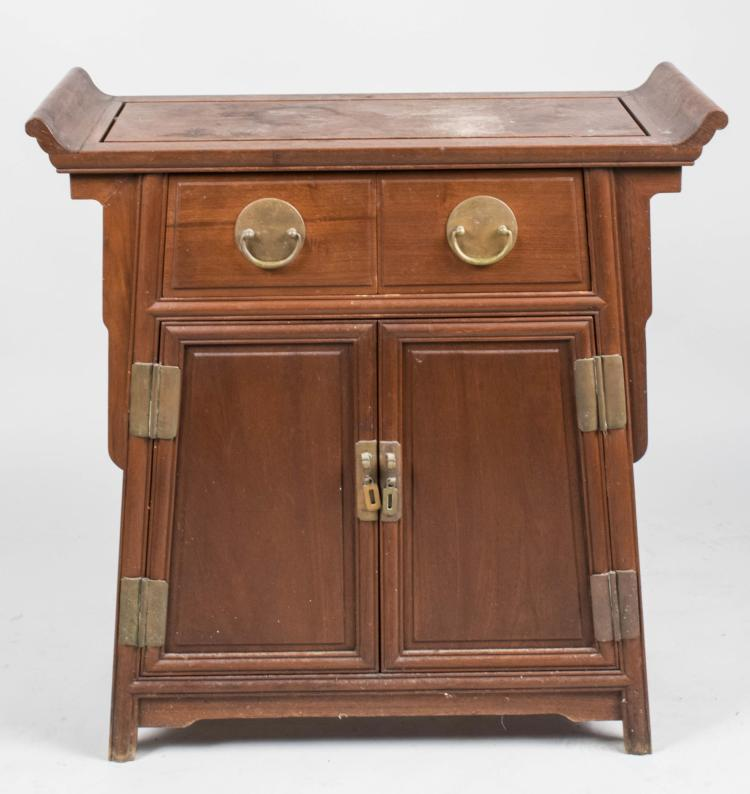 Two Asian Style Cabinets