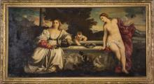 After Titian, Sacred and Profane Love