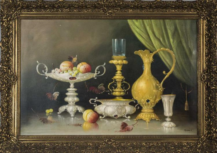 Turkish Style Still Life with Ewer