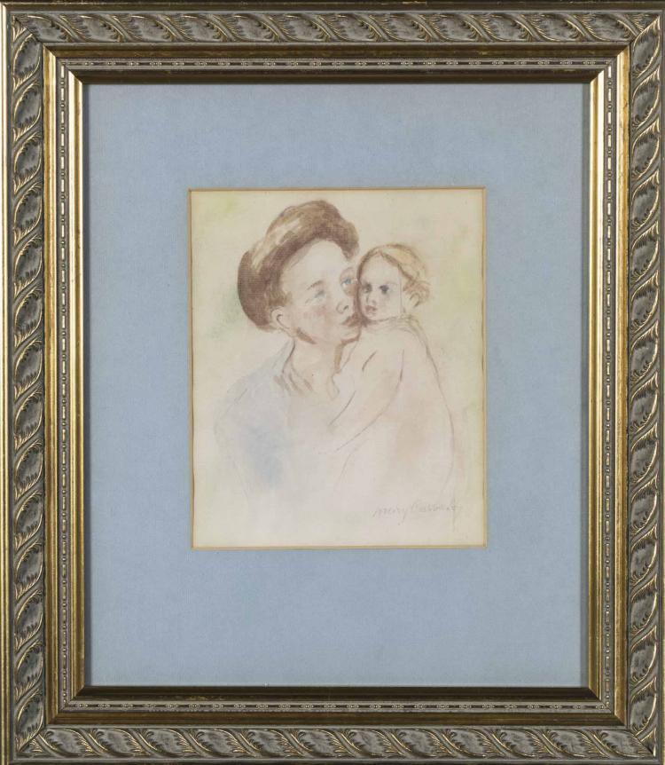 After Mary Cassatt (American, 1844-1926)