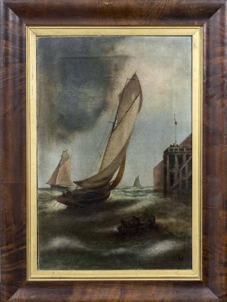Nautical Painting, 19th Century