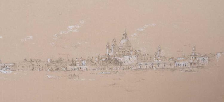 Drawing of Venice, 20th Century