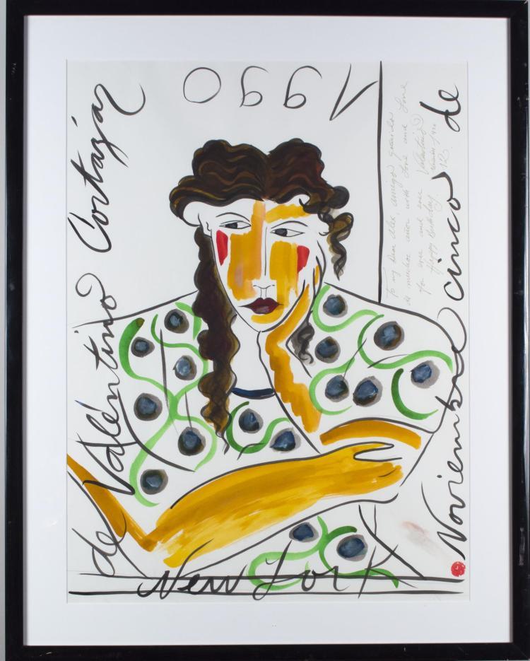 Valentino Cortazar (Colombian, b. 1949)