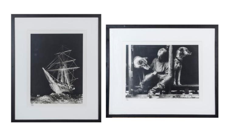 Pair of Photographs After Frank Hurley