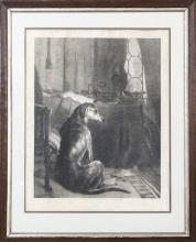Pair of Vintage Dog Prints