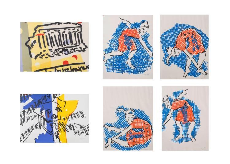 Six Prints by Judith Rifka (American, b. 1945)
