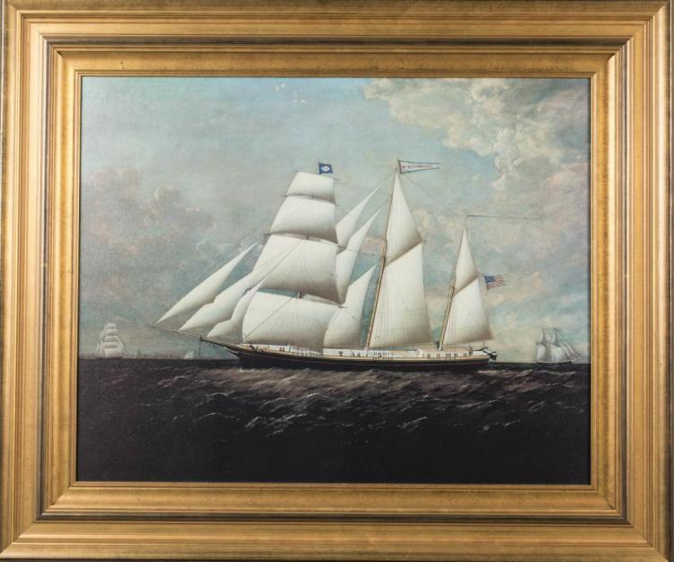 Giclee Print of a Ship