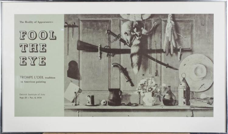 Fool The Eye Trompe L'Oeil 1979 Poster