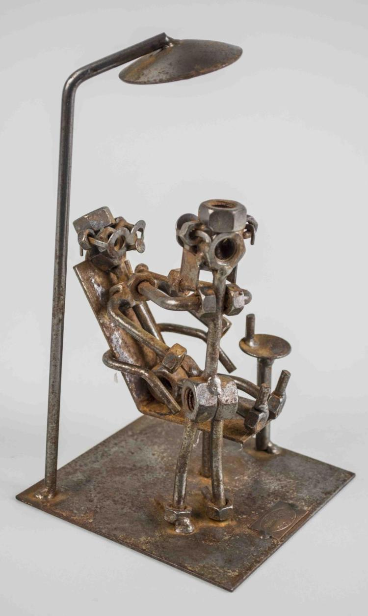 Welded Dentist Sculpture